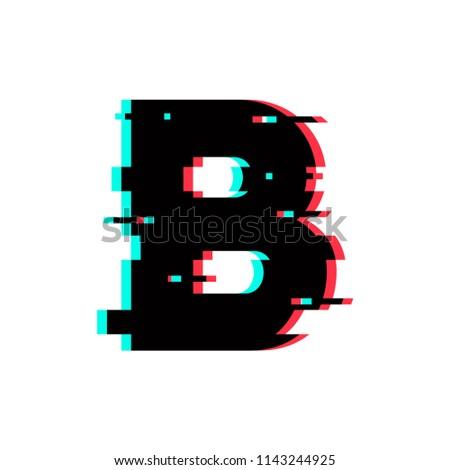 Modern Vector Logo Letter B. B Letter Design Vector