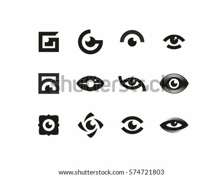 eye logos download free vector art stock graphics images
