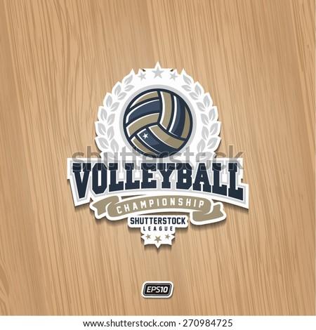 modern vector volleyball