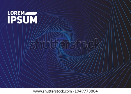 modern wave curve abstract