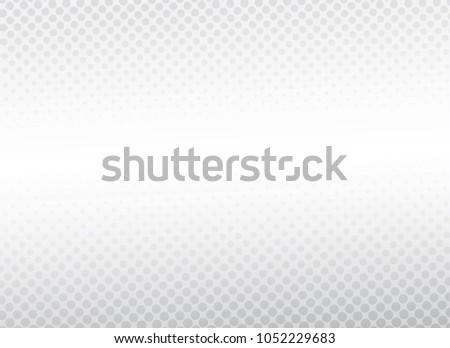 Modern white gradient dot background, White background, vector #1052229683