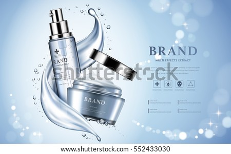moisturizing cosmetic products