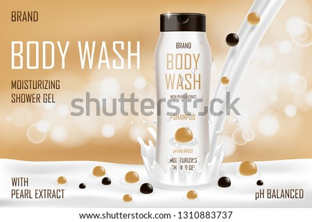 moisturizing pearl body wash