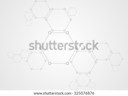 molecular structure abstract