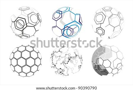 Molecule sphere