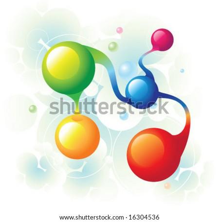 molecule spiral