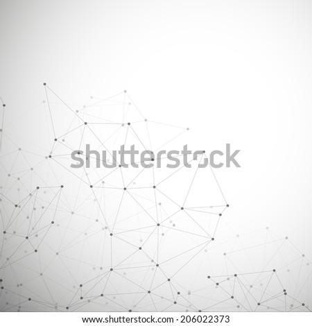 molecule structure  gray