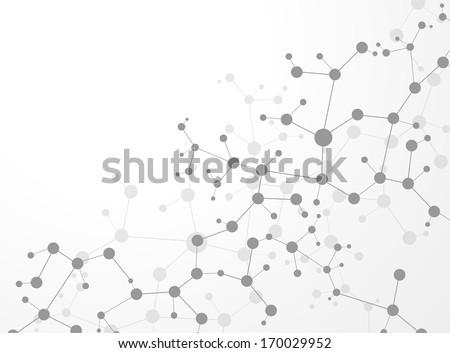 molecule structure  vector