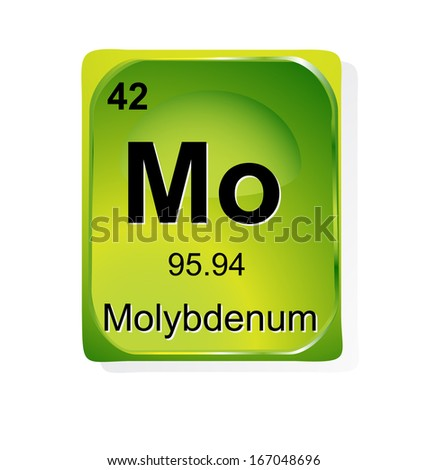 Vfa molybdenum molybdenum chemical element with atomic number symbol and weight urtaz Choice Image