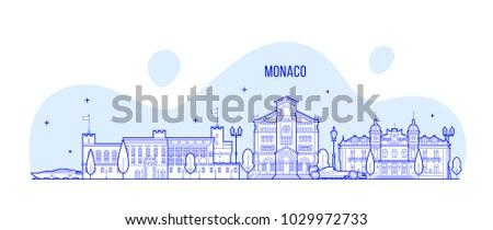 monaco skyline this