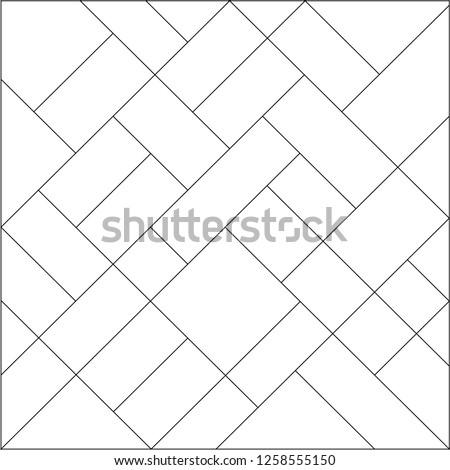 mondrian pattern vector design