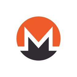 monero coin XMR Cryptocurrency logo vector