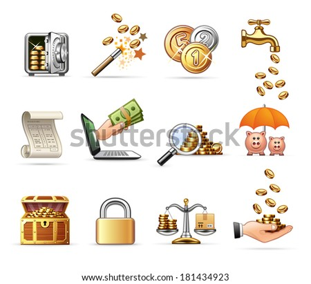 Money and Finance  | Professional icon set