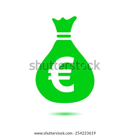Money Sack Bag Icon Vector Illustration Graphic Design Ez Canvas