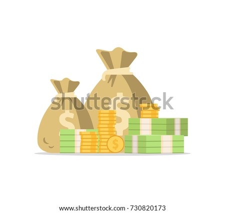 money bag icon  moneybag flat
