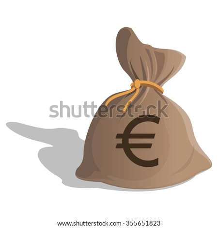 Vector Images Illustrations And Cliparts Money Bag Or Sack Cartoon