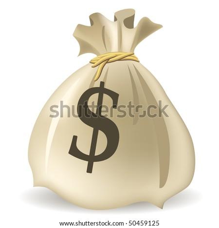 Money Bag, vector