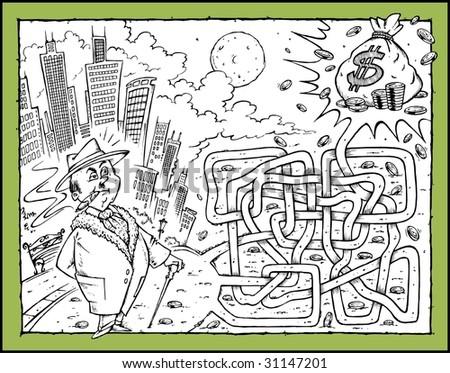 Money Business - Maze