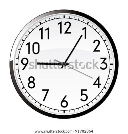 Money clock.