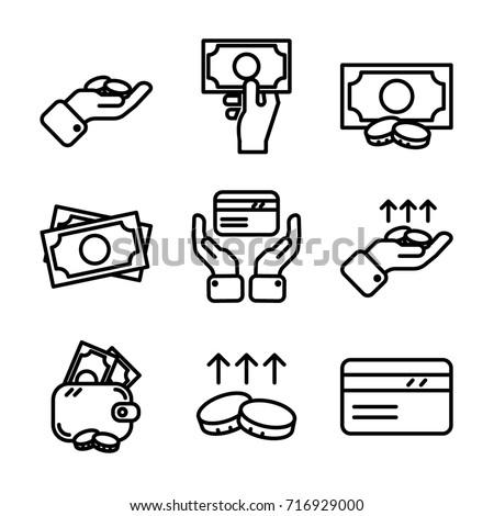 Money & Finance Icon Set