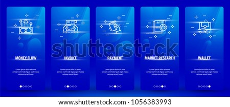stock-vector-money-flow-invoice-payment-market-research-wallet-vertical-cards-with-strong-metaphors
