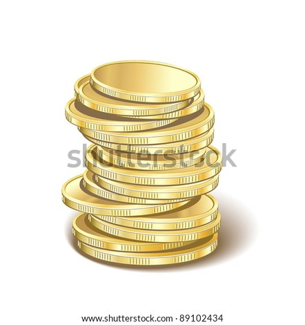 money golden pyramid