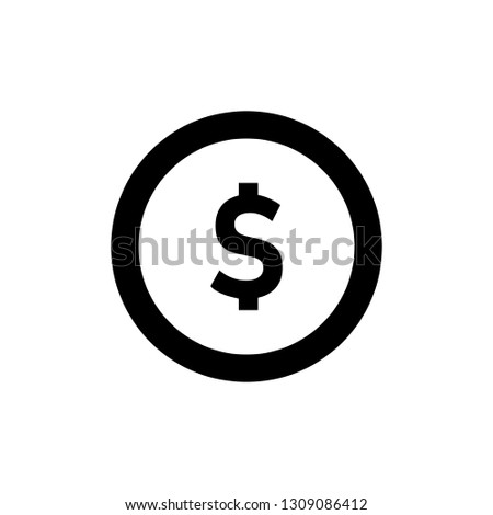 money icon, money symbol.vector