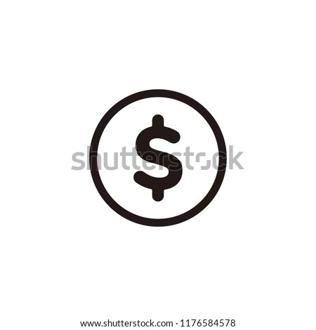 Money icon symbol vector