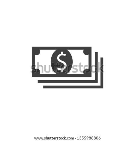 money icon vector eps 10