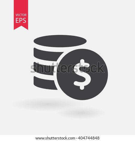 money line icon vector