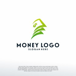 Money Logo designs template vector, Finance logo designs vector, Logo symbol icon