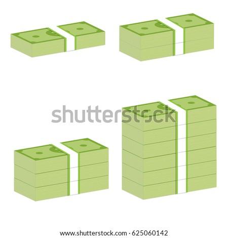 money stack sign money stack