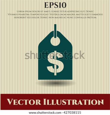 Money Tag symbol
