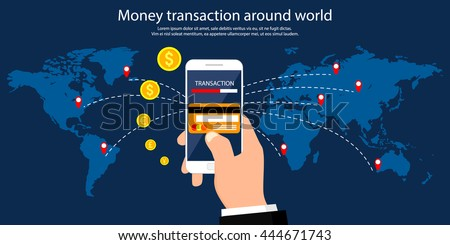 money transaction around world