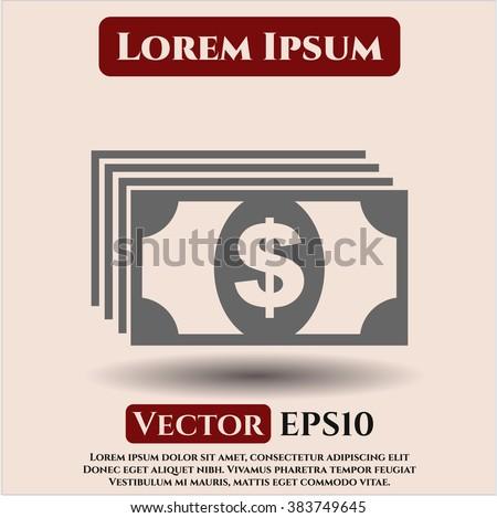Money vector icon