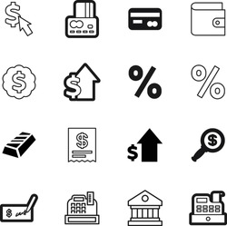 money vector icon set such as: click, number, look, marketing, ppc, building, architectural, medal, service, amount, print, bag, code, advertisement, metal, purse, loan, wallet, sell, rich