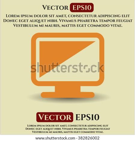 Monitor high quality icon