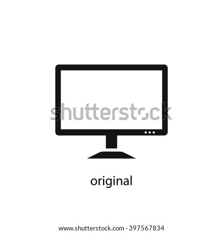 lcd monitor with Shutterstock Eps 397567834 on 2 besides 206078248 in addition Flat Screen Plasma Tv Stand further Smart Tv Mode Icon Widescreen Symbol 374189509 as well 18 02 09 34MBW.