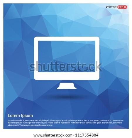 Monitor icon - Free vector icon