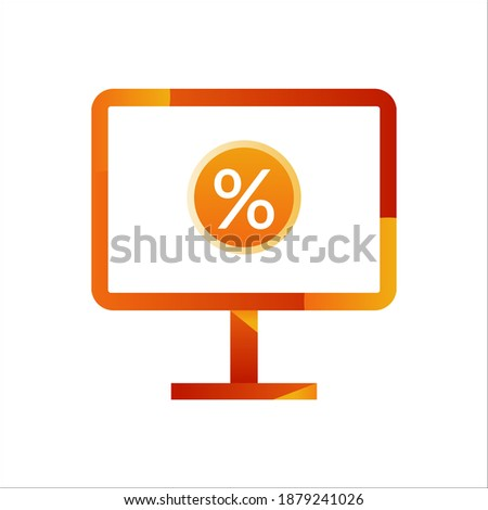 monitor screen with discount