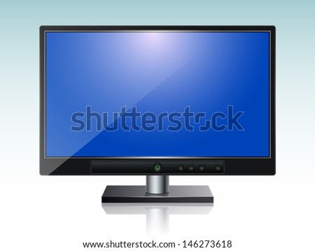monitor vector illustration