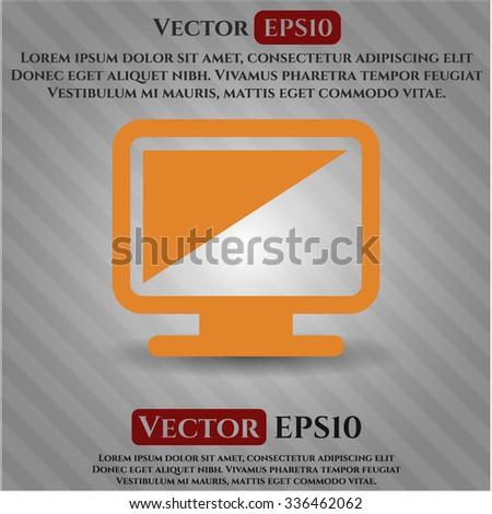 Monitor vector symbol