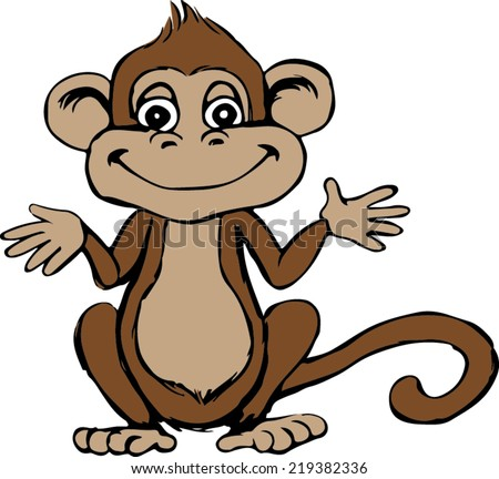 stock-vector-monkey-cartoon-sitting-vector-image