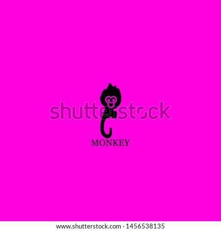 monkey icon sign signifier