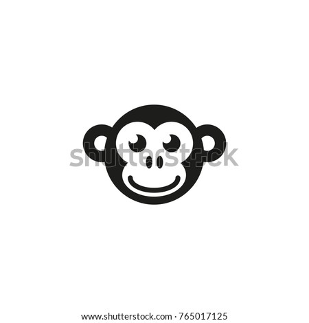 monkey vector icon