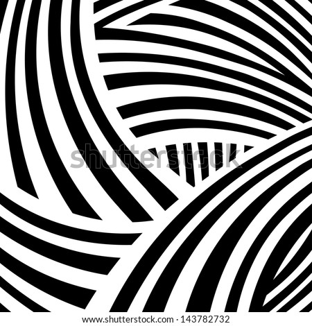 Monochrome abstract background - vector