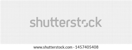 Monochrome checkered background. Seamless grid texture. Abstract pattern. Banner design. Education concept