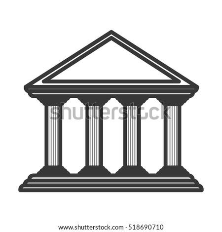 monochrome color of greek