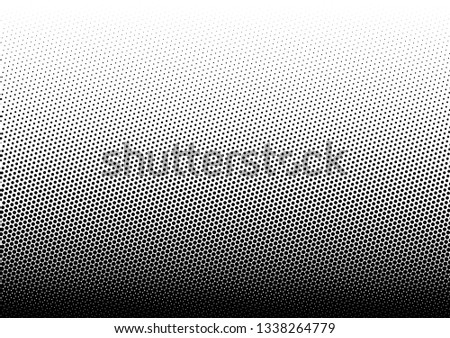 Monochrome Dots Background. Abstract Backdrop. Modern Overlay. Black and White Points Pattern. Vector illustration