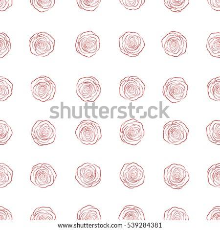 monochrome floral vector